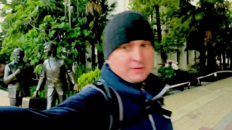 ☀️ Доброе утро в Сочи / 🏊♂️Купание в Чёрном море / 🦆 Утёнок ловит рыбу 🐟