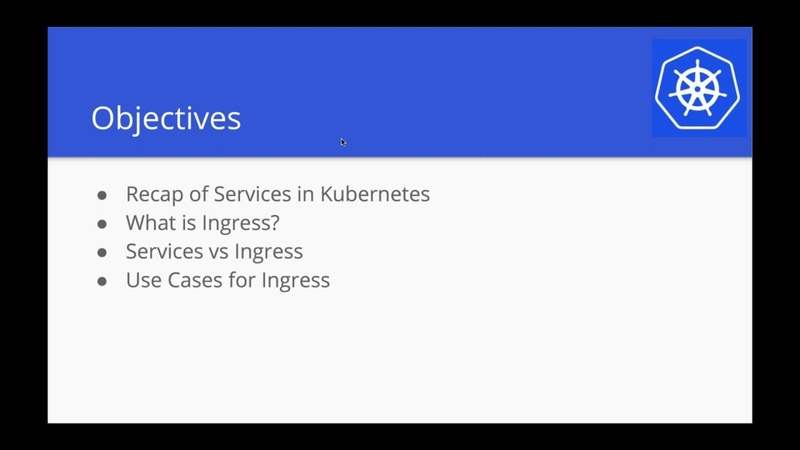 Kubernetes Webinar Series - Everything About Ingress