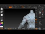 Скульптинг персонажа для мобильных игр