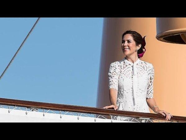 Kronprinsesse Mary fortæller om sejlturen med Dannebrog