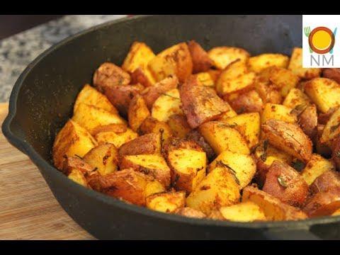 Обалденный способ приготовления картофеля в духовке!Тающий во рту ароматный картофель в духовке!