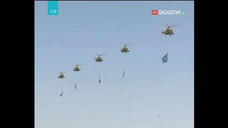 ҚР Қарулы күштері Әуе қорғанысы күштерінің жауынгерлік авиациясы тікұшақтары