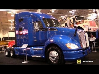 2018 Kenworth T680 Advantage 76inch High Roof Truck - Exterior Interior Walkaround - 2018 Truckworld