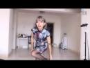 HaNi9 dancing to Single Ladies (Beyonce) in a cheongsam