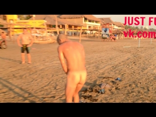 public beach naked MEXICO striptease naked стриптиз член хуй голый nude cock penis