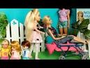 МАША И БАРБИ ЗАБРАЛИ КОЛЯСКУ У ДЕТЕЙ /Мультфильм про куклы Мама Барби