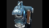 The Visitor's Back Bling slot Back Bling (Legendary) 3 D MODEL FULL HD
