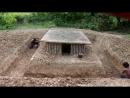 Построить Бассейн Вокруг Подземного Дома