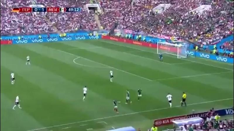 Навальный играет в футбол диалог комментаторов Первого канала в матче между Германией и Мексикой