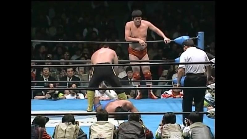 1997.12.05 - Akira Taue Toshiaki Kawada vs. Jun Akiyama Mitsuharu Misawa (RWTL Finals)