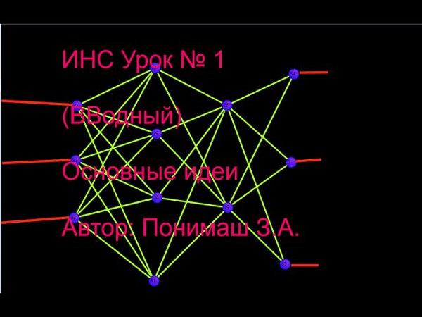 Нейронные сети доступно (Вводное видео)