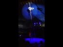 Воздушная гимнастка на корд-де-порель Анна Самэл циркшапитоалле