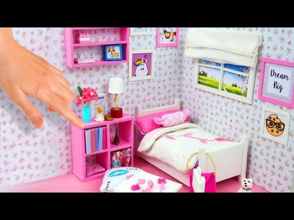 DIY Miniature Dollhouse Room