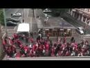 Duisburg Marxloh Viele Türken feiern Erdogans Präsidentschaftswahl in der Türkei 24 06 2018