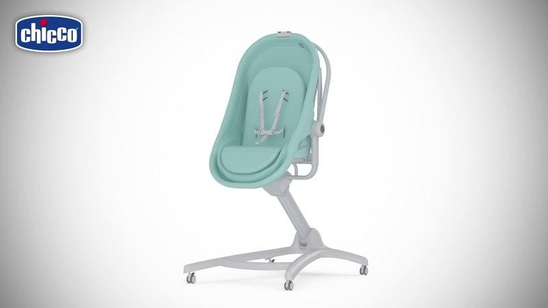 Новинка от Chicco Кроватка стульчик Baby Hug 4 в 1