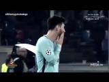 Реакция Месси и Роналду на пропущенные голы
