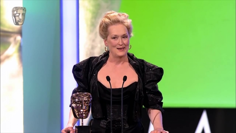 Meryl Streep wins BAFTA for Leading Actress in 2012