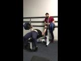Личный рекорд, 200 кг 2х3  Подготовка к Чемпионату Украины  RAW 100%,  г. Харьков, 09-10.12.2017 (мотивация, побить свой рекорд