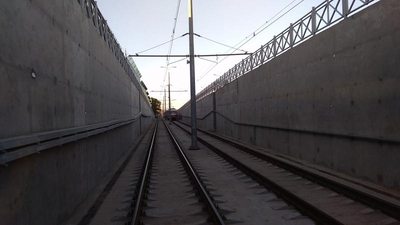 Горы, извилины и тоннель. Покатушки по новой ветке трамвая в Самаре.