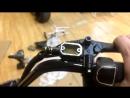 Сборка электроскутера CityCoco Lux прокачка тормозов
