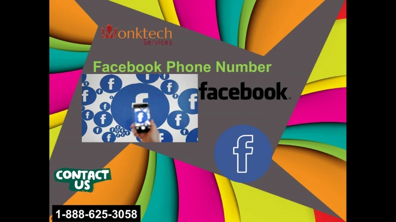Switch users on Facebook app, call Facebook phone number 1-888-625-3058