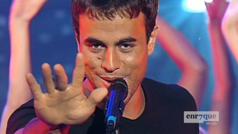 Wow the 99 Enrique Iglesias in HD BAILAMOS live promo girls dancing