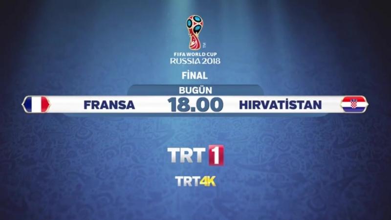 Dünya Kupası Finali Fransa - Hırvatistan Joymaxiptv