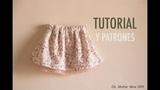 Conjunto blusa y falda parte 1 aprender a coser la falda (patrones gratis)