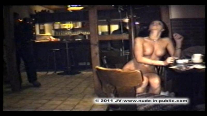 Nude in public Dasha K