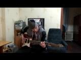 Rammstein - Du Hast.Guitar cover.