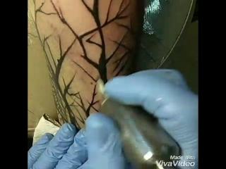история одной татуировки. 3 сеанса.