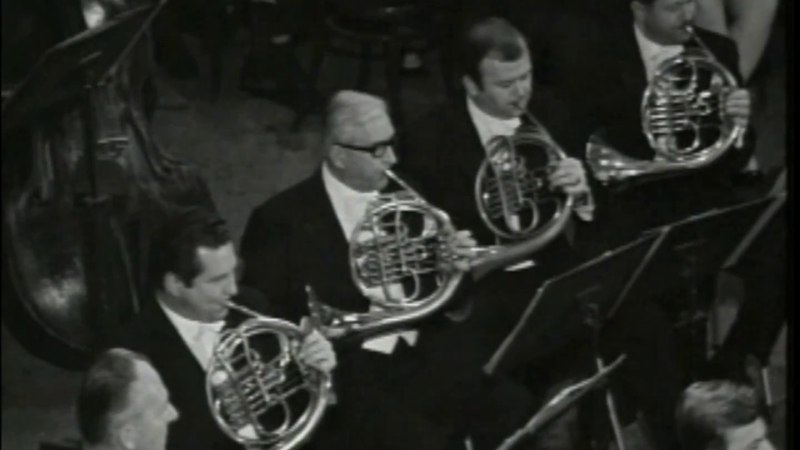 Walton Variations on a Theme by Hindemith Szell Wiener Philharmoniker 1968 Movie Live