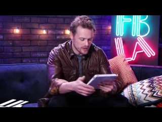 Sam heughan - im live at facebook la to chat about my new...