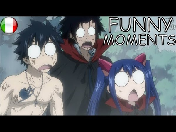 Fairy Tail [SUB-ITA] - FUNNY MOMENTS 18