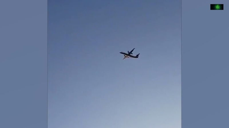 Угон пассажирского самолета и его перехват истребителями в США