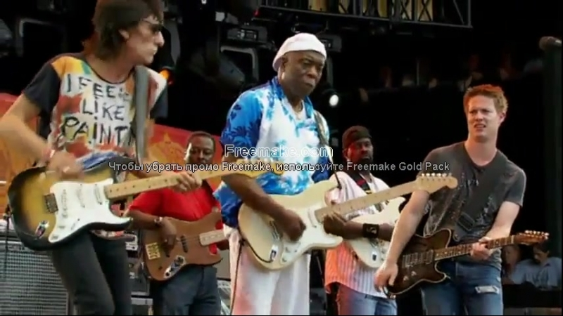 Buddy Guy, Ronnie Wood Johnny Lang Miss You Crossroads Guitar Festival 2010