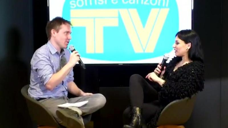 TV Sorrisi e Canzoni - Live con Cristina Scabbia