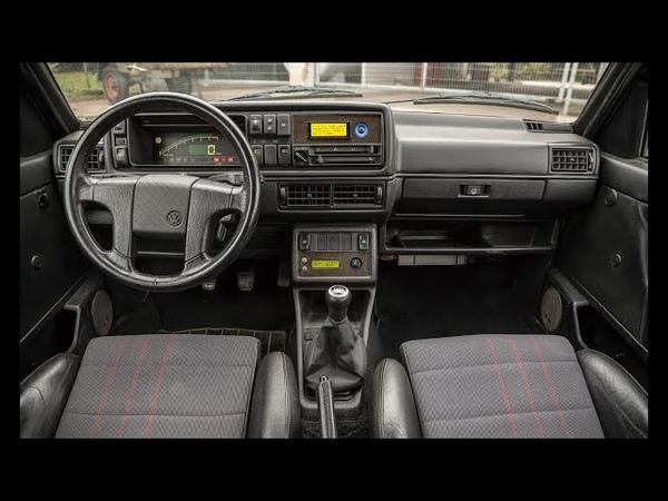 VW Golf Mk2 Rallye R30 Turbo 900PS in freier Wildbahn