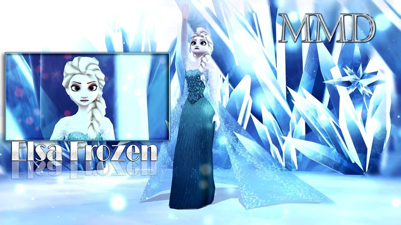 ●MMD Elsa Frozen - My Saving Grace [ by Harley Pierce ]●