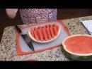 КАК НАРЕЗАТЬ АРБУЗ красиво и быстро 3 способа HOW to slice watermelon