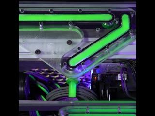 Мод на GeForce GTX 1070 с жидкостным охлаждением