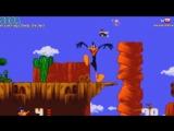 Даффи Дак в Голливуде СЕГА 1994 Полное прохождение Daffy Duck In Hollywood SEGA Walkthrough