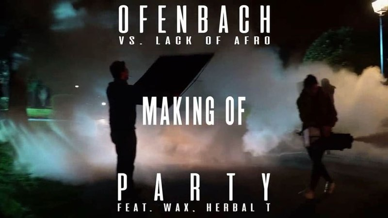 """Ofenbach on Instagram: """"Wanna PARTY with us backstage? Check out the making of our video clip now on YouTube! 🔥 PARTY"""""""