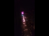 Новогодний салют 🎄🎉🎇Люберцы вид с нашего балкона 23йэтаж)) красота)))