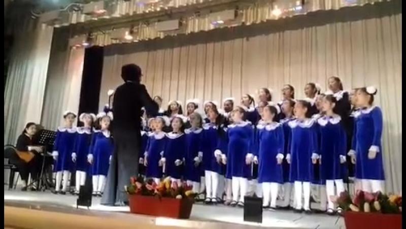 Младший хор ДШИ - Декабрь сарин 28