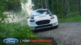 Sebastien Ogier and Sebastien Chabal WRC Fiesta Ride Ford Performance