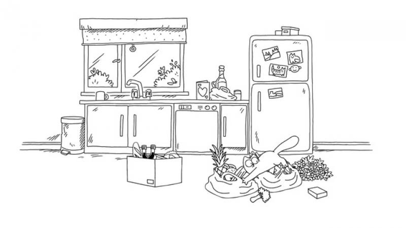 Кот Саймона • Прелюдия к обеду