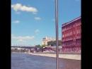 по Москве реке