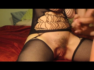 Kelsey cums 3 times as guy eats his cum of her hairy pussy and eats her out