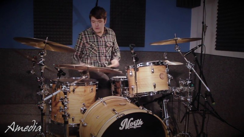 Amedia Cymbals Artist CONOR LAWRENCE
